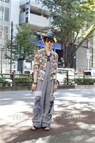 ファッションコーディネート原宿・表参道 2011年07月 浦辻大奨さん