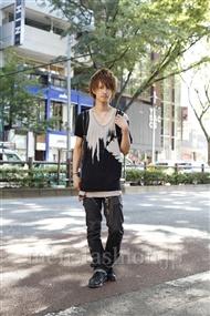 ファッションコーディネート原宿・表参道 2011年07月 米重晃希さん