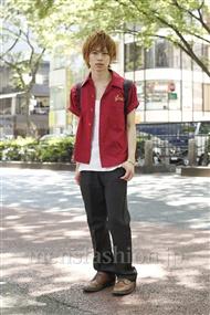 ファッションコーディネート原宿・表参道 2011年07月 大木光さん