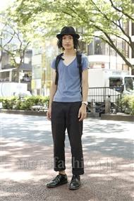 ファッションコーディネート原宿・表参道 2011年07月 キョウスケさん