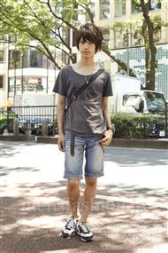ファッションコーディネート原宿・表参道 2011年07月 伊藤航平さん