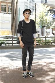 ファッションコーディネート原宿・表参道 2011年07月 藤森大輔さん