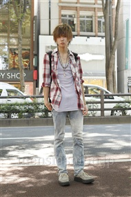 ファッションコーディネート原宿・表参道 2011年07月 吉野海斗さん