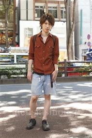 ファッションコーディネート原宿・表参道 2011年07月 菊池快瑠さん