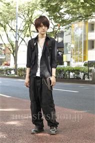 ファッションコーディネート原宿・表参道 2011年08月 松下雄一郎さん