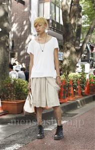 ファッションコーディネート原宿・表参道 2011年08月 わっし―さん