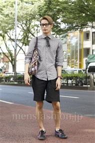 ファッションコーディネート原宿・表参道 2011年08月 河内智博さん