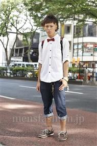 ファッションコーディネート原宿・表参道 2011年08月 ヒロシさん