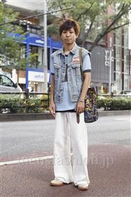 ファッションコーディネート原宿・表参道 2011年08月 大久保卓也さん