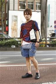 ファッションコーディネート原宿・表参道 2011年08月 夏川登志郎さん