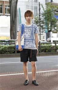 ファッションコーディネート原宿・表参道 2011年08月 上久保翔太さん
