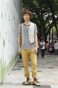 ファッションコーディネート原宿・表参道 2011年08月 中嶋時男さん