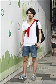 ファッションコーディネート原宿・表参道 2011年08月 銀太郎さん