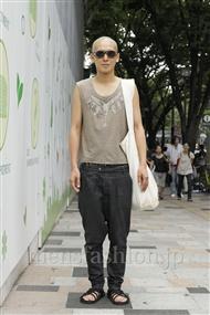 ファッションコーディネート原宿・表参道 2011年08月 Shingoさん