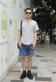 ファッションコーディネート原宿・表参道 2011年08月 Kento Utsuboさん