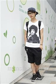ファッションコーディネート原宿・表参道 2011年08月 町山博彦さん