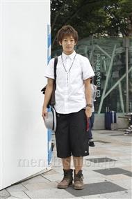 ファッションコーディネート原宿・表参道 2011年08月 大倉士門さん
