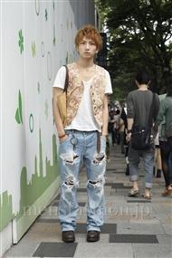 ファッションコーディネート原宿・表参道 2011年08月 おりょんさん