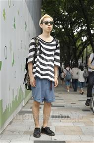 ファッションコーディネート原宿・表参道 2011年08月 ウサミタクヤさん