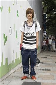 ファッションコーディネート原宿・表参道 2011年08月 ゆうきさん