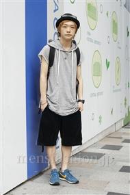 ファッションコーディネート原宿・表参道 2011年08月 桑室俊佑さん