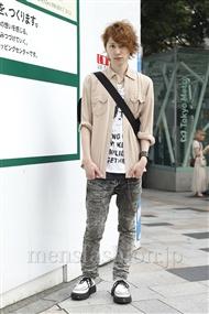 ファッションコーディネート原宿・表参道 2011年08月 富井晃示さん