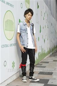 ファッションコーディネート原宿・表参道 2011年08月 影山健太さん