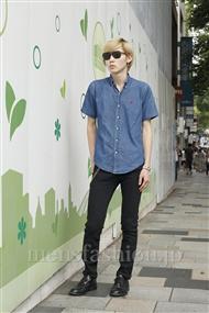 ファッションコーディネート原宿・表参道 2011年08月 ムトウさん