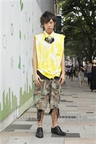 ファッションコーディネート原宿・表参道 2011年08月 エージさん