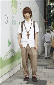 ファッションコーディネート原宿・表参道 2011年08月 ちょきさん