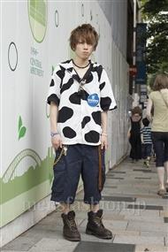ファッションコーディネート原宿・表参道 2011年08月 掛川 葵さん