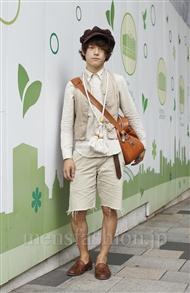 ファッションコーディネート原宿・表参道 2011年08月 ぱー2号さん