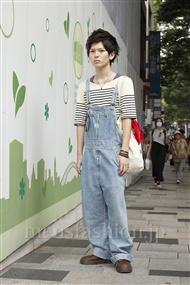 ファッションコーディネート原宿・表参道 2011年08月 ナオヤさん