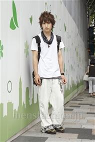 ファッションコーディネート原宿・表参道 2011年08月 吉河大樹さん