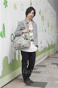 ファッションコーディネート原宿・表参道 2011年08月 甲斐紀行さん