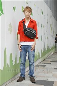 ファッションコーディネート原宿・表参道 2011年08月 高橋優仁さん