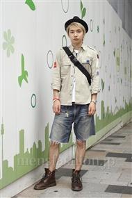 ファッションコーディネート原宿・表参道 2011年08月 タケルさん