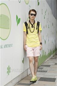 ファッションコーディネート原宿・表参道 2011年08月 小島慶大さん