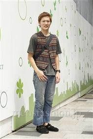 ファッションコーディネート原宿・表参道 2011年08月 渡部正馬さん
