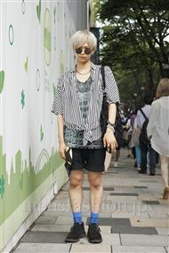 ファッションコーディネート原宿・表参道 2011年08月 石井雄大さん