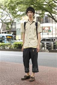 ファッションコーディネート原宿・表参道 2011年08月 鎌倉弘樹さん