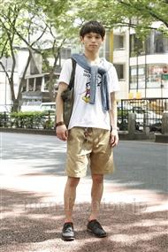 ファッションコーディネート原宿・表参道 2011年08月 Tatsukiさん