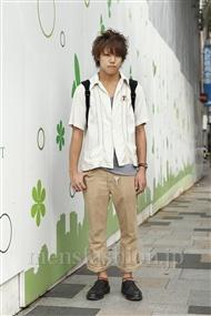 ファッションコーディネート原宿・表参道 2011年09月 吉岡聡大さん