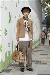ファッションコーディネート原宿・表参道 2011年09月 上久保翔太さん