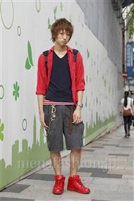 ファッションコーディネート原宿・表参道 2011年09月 村上健斗さん