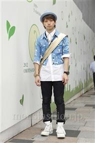 ファッションコーディネート原宿・表参道 2011年09月 浜本忠勝さん