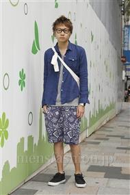ファッションコーディネート原宿・表参道 2011年09月 小沼克年さん