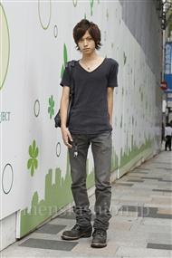 ファッションコーディネート原宿・表参道 2011年09月 桂 也真人さん