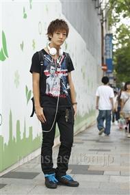 ファッションコーディネート原宿・表参道 2011年09月 大倉士門さん