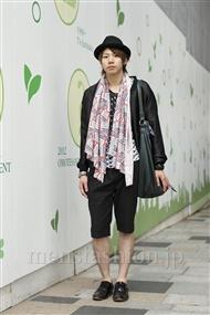 ファッションコーディネート原宿・表参道 2011年09月 ルイさん